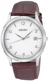 Seiko Classic SGEE09P1 Elegante Herrenuhr flach & leicht