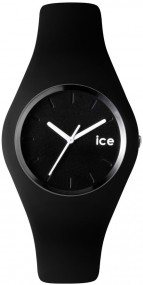 ICE.BK.U.S.12 Schwarze Ice Watch unisex Uhr aus der ICE Collection
