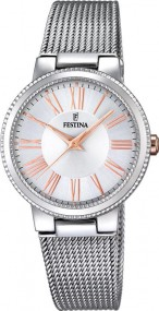 Festina Klassik F16965/1 Damenarmbanduhr Design Highlight