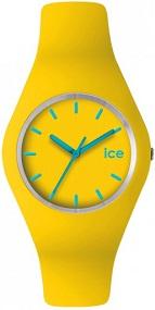 Gelbe Ice Watch Armbanduhr aus der ICE Collection mit der Bezeichnung ICE.YW.U.S.12