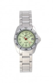 Chris Benz One Lady CBL-N-SI-MB Elegante Damenuhr Taucheruhr