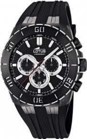 Lotus Chrono Sport 15802/3 Herrenchronograph Massives Gehäuse