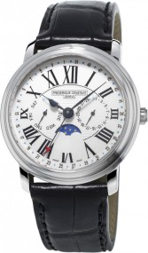 Frederique Constant Geneve Classic Business Timer FC-270M4P6 Herrenarmbanduhr Sehr gut ablesbar