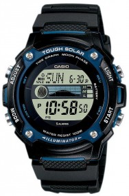Casio Tough Solar W-S210H-1AVEF Digitaluhr für Herren Solarbetrieb