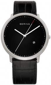 Bering Classic Collection BG11139-402 Elegante Herrenuhr flach & leicht