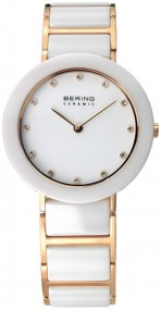 Bering Ceramic Collection BG11429-751 Damenarmbanduhr Mit Keramikelementen