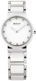 Bering Ceramic Collection 10729-754 Elegante Damenuhr Mit Keramikelementen