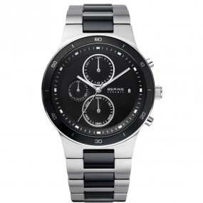 Bering Ceramic Collection 33341-742 Herrenchronograph flach & leicht