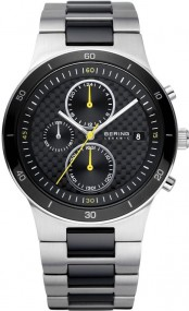 Bering Ceramic Collection 33341-749 Herrenchronograph flach & leicht