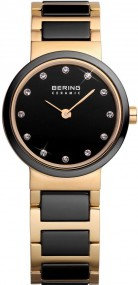 Bering Ceramic Collection 10725-741 Damenarmbanduhr Mit Keramikelementen