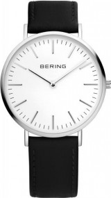 Bering Classic Collection 13738-404 Herrenarmbanduhr flach & leicht