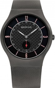 Bering Classic Collection 11940-377 Herrenarmbanduhr flach & leicht