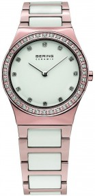 Bering Ceramic Collection 32430-761 Damenarmbanduhr Mit Keramikelementen