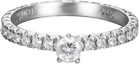 Esprit Jewel Brilliance Grace ESRG92049A Damenring Mit Zirkonen