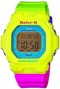 Casio Baby-G Energetic Colors BG-5607-9ER Damenarmbanduhr Design Highlight