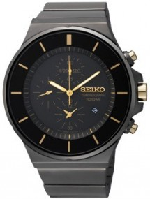 Seiko Chrono SNDD57 Elegante Herrenuhr Design Highlight