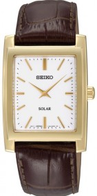 Seiko Solar SUP890 Elegante Herrenuhr Klassisch schlicht