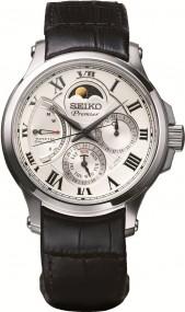 Seiko Premier SRX007P1 Herrenarmbanduhr Mit Kinetikuhrwerk