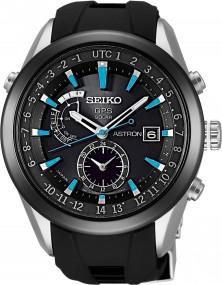 Seiko Astron SAST009G Elegante Herrenuhr GPS Empfang f. Uhrzeit & Zeitzone