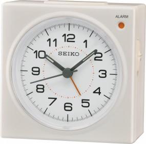 Seiko Clocks QHE086W Wecker Laufende Sekunde