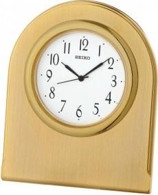 Seiko Clocks QHG041G Tischuhr Massiv gearbeitet