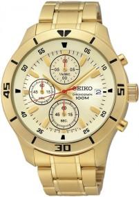 Seiko Classic SKS404P1Herrenchronograph Klassisch schlicht