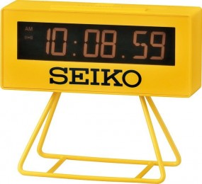 Seiko Olympic Clock QHL062Y Wecker Design Highlight