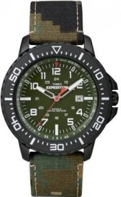 Timex Expedition Uplander Camo T49965 Herrenarmbanduhr Indiglo Beleuchtung