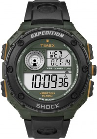 Timex Expedition Vibe Shock T49982 Digitaluhr für Herren Vibrationsalarm