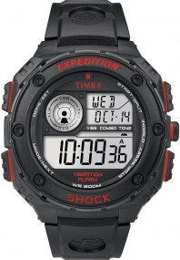 Timex Expedition Vibe Shock T49980 Digitaluhr für Herren Vibrationsalarm