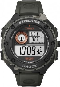 Timex Expedition Vibe Shock T49981 Digitaluhr für Herren Vibrationsalarm