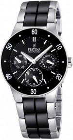 Festina Ceramic Collection F16530/2 Elegante Damenuhr Mit Keramikelementen