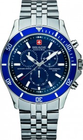 Hanowa Swiss Military Flagship Chrono 06-5183.7.04.003 Herrenchronograph Zeitloses Design