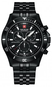 Hanowa Swiss Military Flagship Chrono 06-5183.7.13.007 Herrenchronograph Zeitloses Design