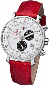AUER Swiss Red AU-ZU-611-WRL Herrenchronograph SWISS ISA