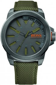 Hugo Boss Orange New York 1513009 Herrenarmbanduhr Massives Gehäuse