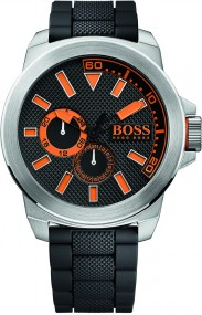 Hugo Boss Orange New York 1513011 Herrenarmbanduhr Massives Gehäuse